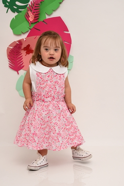 Vestido Pietra Summer Blessed Estampa Mini Flores