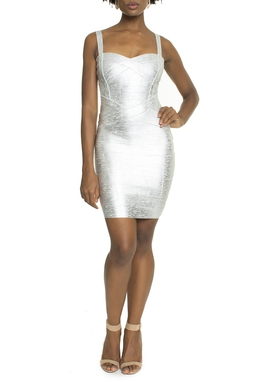Vestido Plata - DG13739