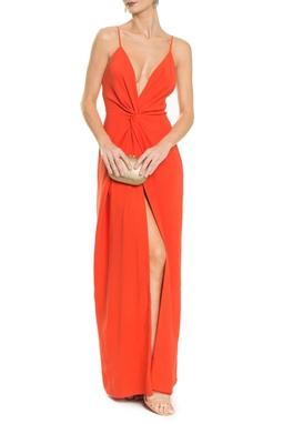 Vestido Poema Orange - DG14856