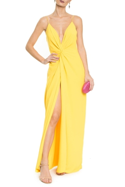 Vestido Poema Yellow