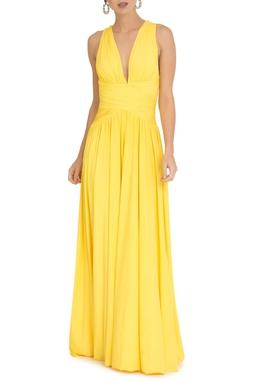 Vestido Pomona X Bright Yellow