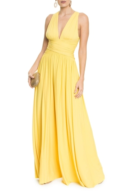 Vestido Pomona X Yellow