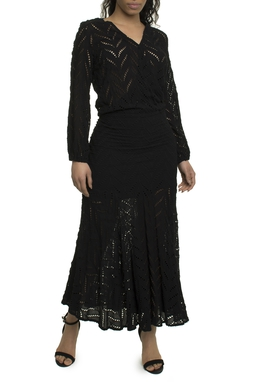 Vestido Preto Laise - DG17829