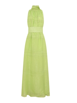 Vestido Rainbow New Gold - Verde USTL