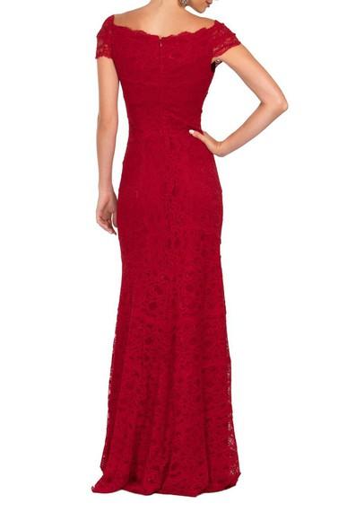 Vestido Red Lace Nicole Miller