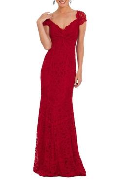 Vestido Red Lace