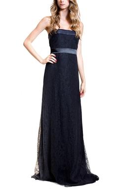 Vestido Renda Negra CLM