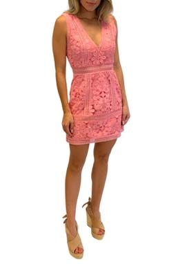 Vestido Renda Rosa - BMD 9247