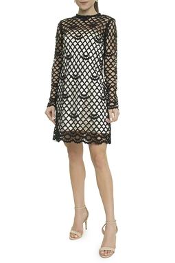 Vestido Renda Transparente - BMD 9564