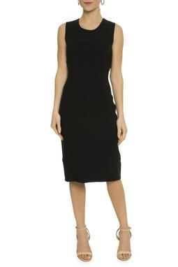 Vestido Reto Preto - DG17433