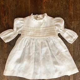 Vestido Romantico Off white