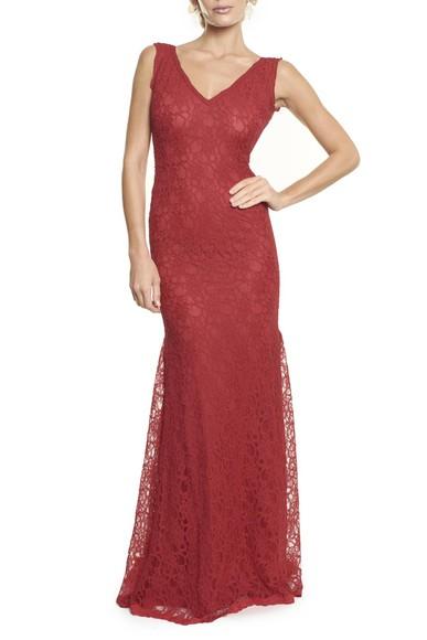 Vestido Romilda Red Anamaria Couture