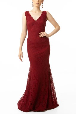 Vestido Romilda Vinho