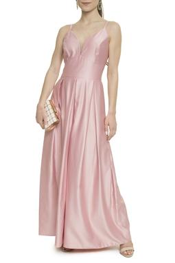 Vestido Rosa Alça - DG17925