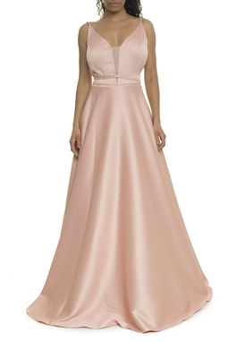 Vestido Rose Alça Fina - DG17933