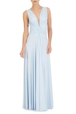 Vestido Sibila V Baby Blue - DG13552