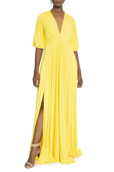 Vestido Sirius Yellow Anamaria Couture