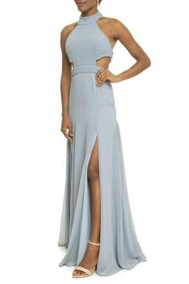 Vestido Soeiro Blue Basic Collection