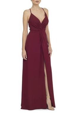 Vestido Soneto Marsala - DG14231