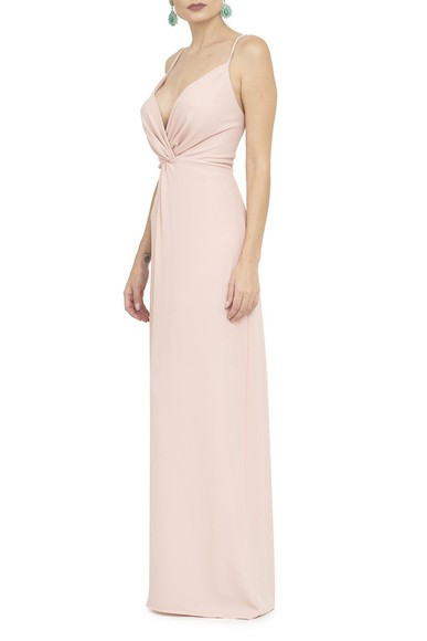Vestido Soneto Rose Basic Collection