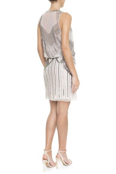 Vestido South Silver Adrianna Papell