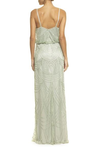 Vestido Splendore Green Adrianna Papell