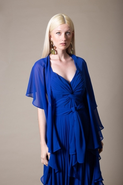 Vestido Leda Azul THM