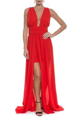 Vestido Susan Red -  DG13519