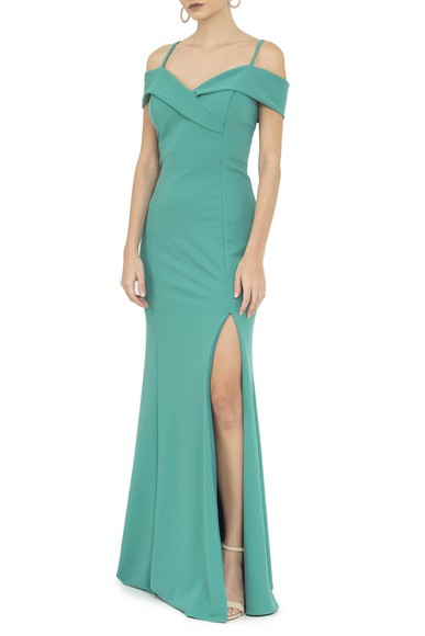 Vestido Tablo Green Basic Collection