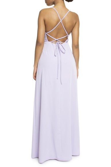 Vestido Tayba Lavanda Basic Collection