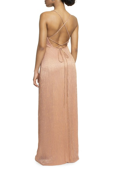 Vestido Tayba Lurex Basic Collection