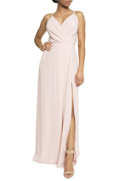 Vestido Tayba Rose Basic Collection