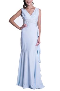 Vestido Tioli Azul CLM