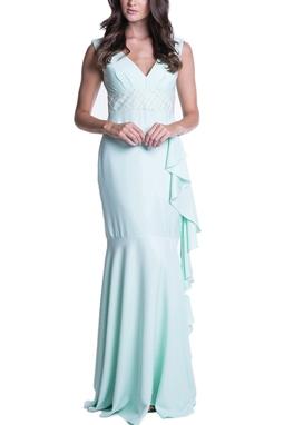 Vestido Tioli Verde CLM