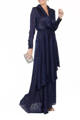 Vestido Topazio Azul - DG17078