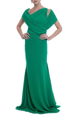 Vestido Tranchesi Verde CLM
