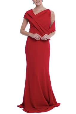 Vestido Tranchesi Vermelho CLM