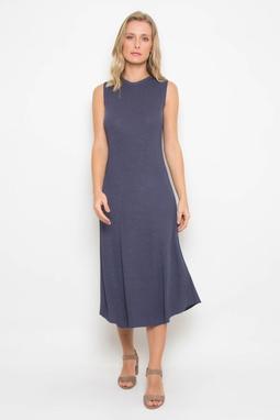 Vestido Trt Midi Azul