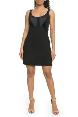 Vestido Tubinho Preto - DG18104