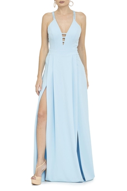 Vestido Tully Light Blue