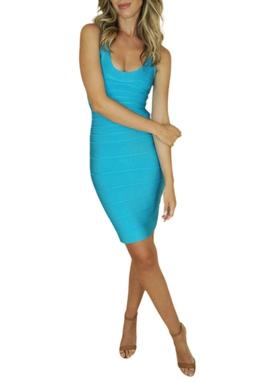 Vestido Turquesa - BMD 9328