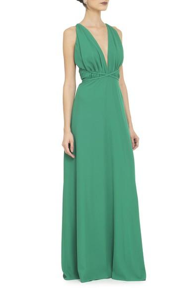 Vestido Tyrell Green Basic Collection