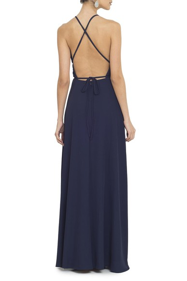 Vestido Tyrell Navy Basic Collection
