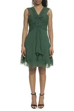 Vestido Verde Seda - DG18032