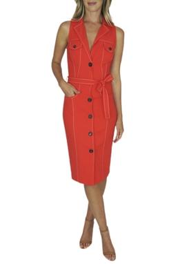 Vestido Vermelho - BMD 9483