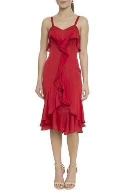 Vestido Vermelho YSL - BMD 9169