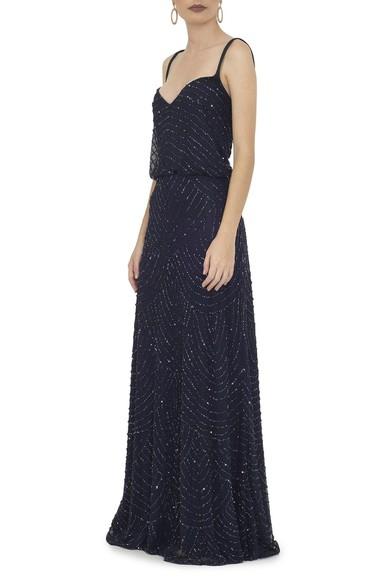 Vestido Visage Blue Adrianna Papell