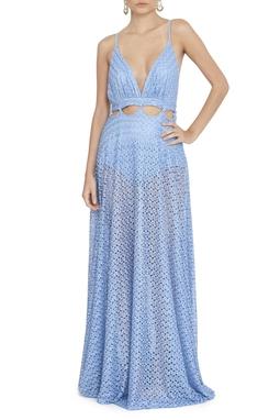Vestido Web Blue