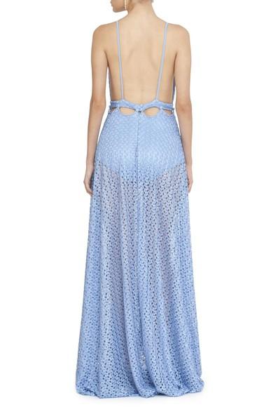 Vestido Web Blue L'Atelie