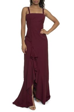 Vestido Winona Marsala - DG14243